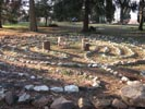 The labyrinth in Leakin Park